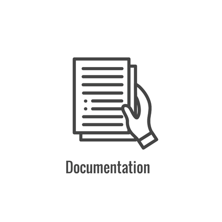New Business Process Icon, Documentation phase