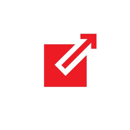 External link icon - box and arrow pointing outward Ilustrace