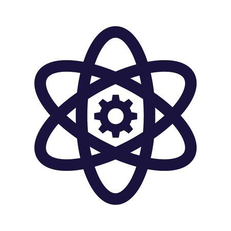 Core Values Icon w Scientific Inclusion image Illustration