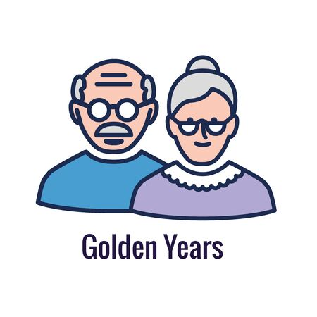 Generational - Retirement Icon set showing considerations for retirement