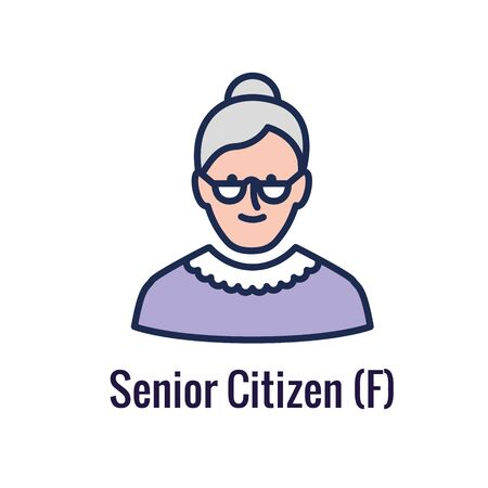 Generational - Retirement Icon set showing considerations for retirement Vector Illustration