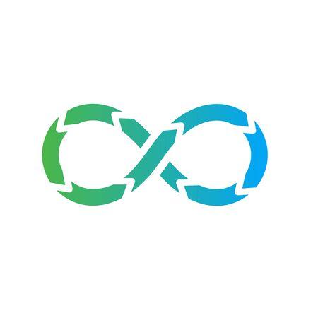 Opérations de développement avec cycle de vie - Icône DevOps