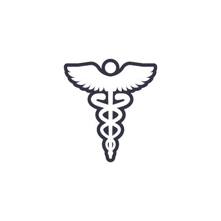 Health Safety and Environment Icon -  the medical side of things 向量圖像