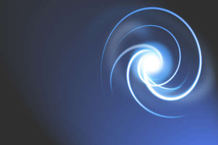 Abstract Swirling light photo