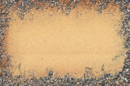 macadam: Old paper texture covered concrete
