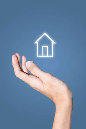 Hand and house Stock Photo - 9308164