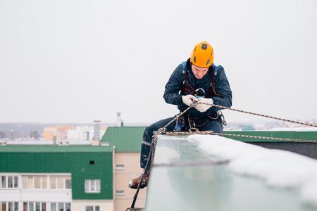 Kletterausrüstung Industrie : Nahaufnahme industrielle kletterausrüstung lizenzfreie fotos bilder