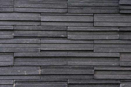 muro: Scuro piastrelle muro di pietra mattoni texture a galla
