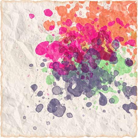 Watercolor paper texture background Standard-Bild
