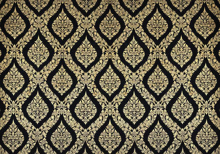 Thai floral pattern design on wall Stock Photo - 13166608