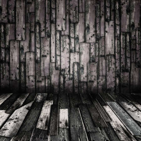 Vintage grunge wooden planks interior Stock Photo - 15291315
