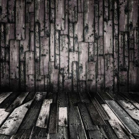 Vintage grunge wooden planks interior Stock Photo - 15291315