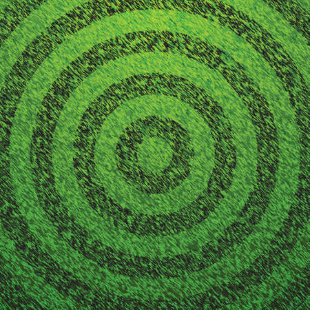 Soccer Field Circle Lines Vector Stock Vector - 13551215