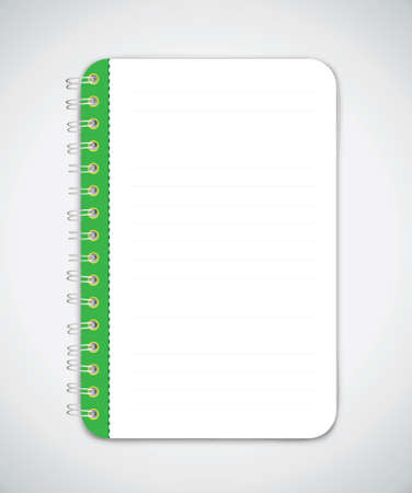Notebook Vector Vector