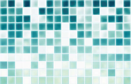 blue mosaic tiles texture with white filling vector Stock Vector - 13551193