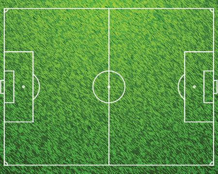 Football Field Vector Vector