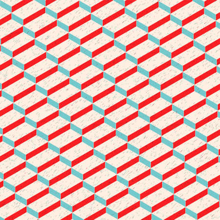 Isometric Rectangular Texture Pattern  Background Vector