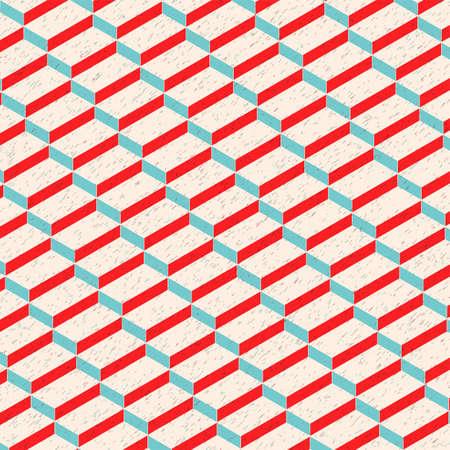Isometric Rectangular Texture Pattern  Background