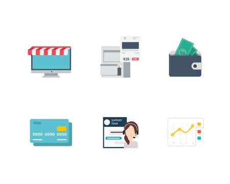 Business and Finance Icons Reklamní fotografie - 82600476