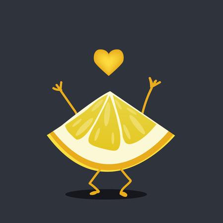 emotions faces: Lemon character