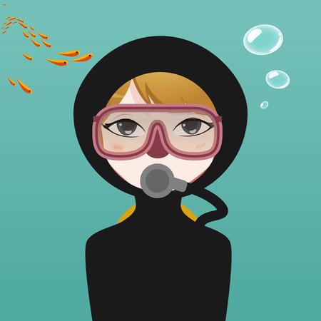 plongée sous-marine avatar