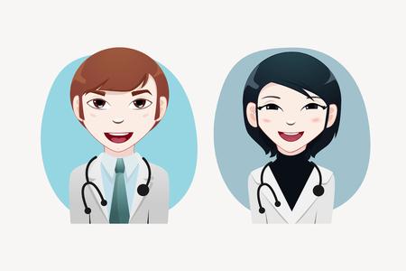 Medical people vector illustration