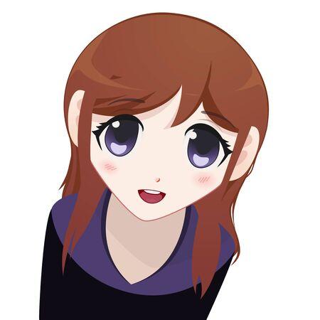 manga girl: Manga Girl