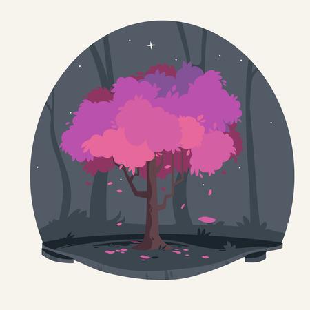 trees illustration: Tree Illustration