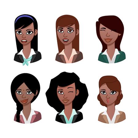 saree: Woman avatar