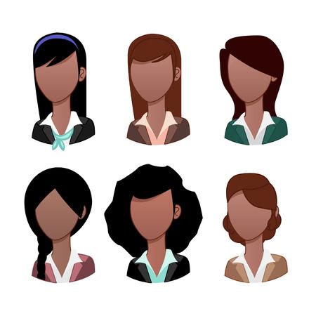 black: Businesswoman avatar: Black