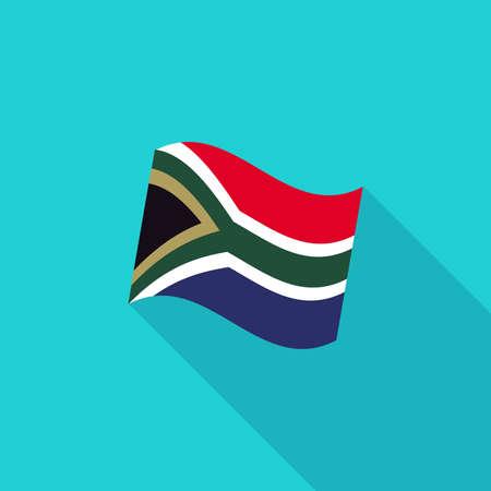 apartheid: South-africa flag