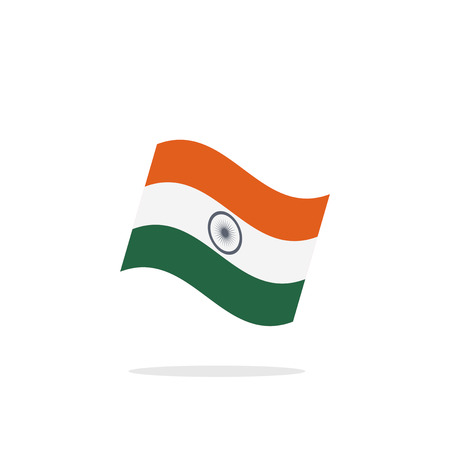 asoka: india flag illustration Illustration