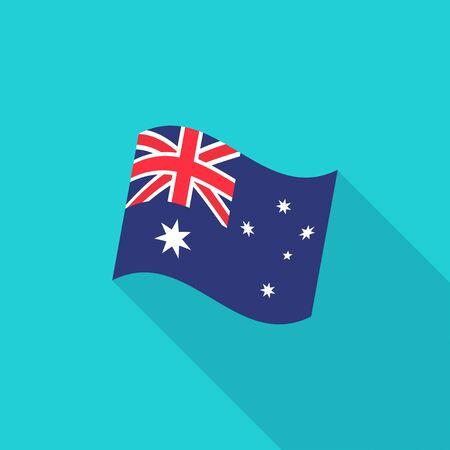 australia flag: Australia Flag illustration