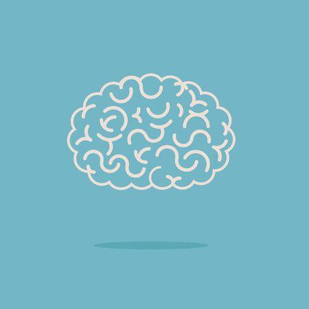 brain illustration: Brain illustration Illustration
