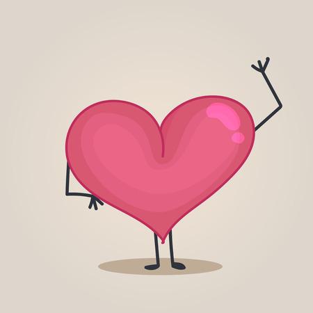 hello heart: Heart character
