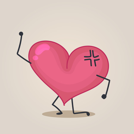 vendetta: �ngry Heart character Illustration