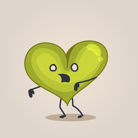 hearts and hands: Zombie Heart