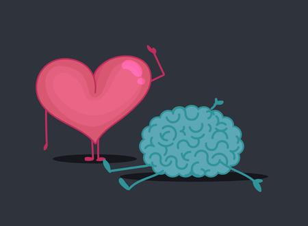 crime scene: Brain & heart characters: Crime scene