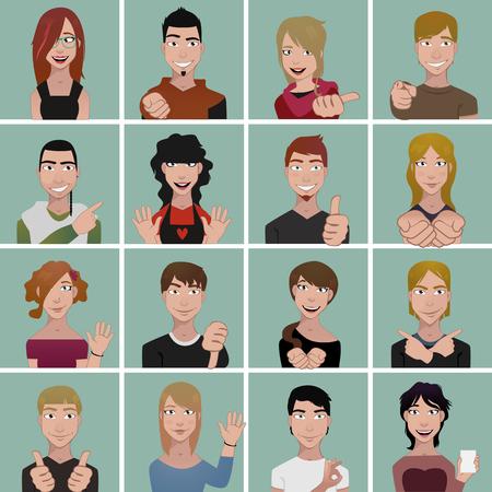 avatares adolescente