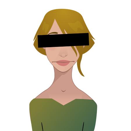 censure: censured girl