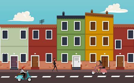 city: City life