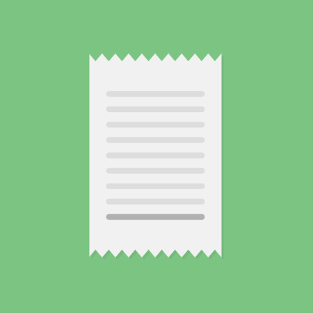 Invoice vector icon Stock fotó - 60056245