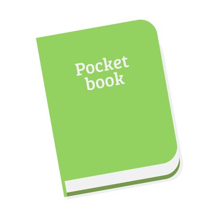 pocket book: Pocket Book vector illustration Illustration