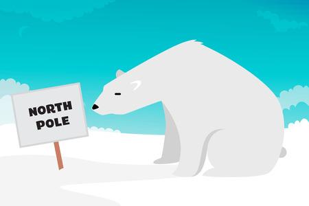 floe: Polar Bear illustration