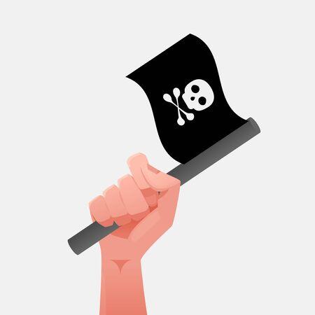 piracy: Pîrate Flag