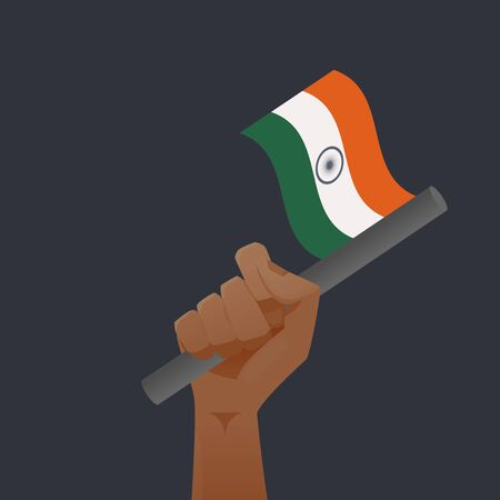 asoka: india flag illustration Illustration