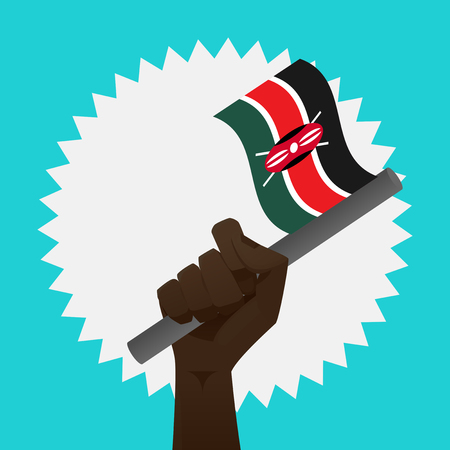 Kenya Flag Illustration