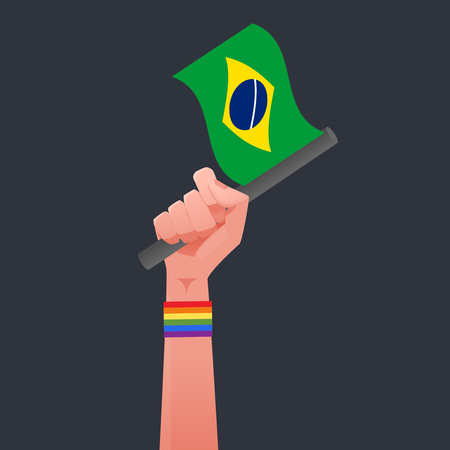 sexuality: brazil flag & Sexuality symbol