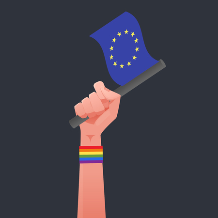 sexuality: UE Flag & Sexuality symbol
