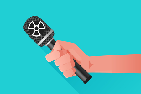 contamination: Microphone illustration